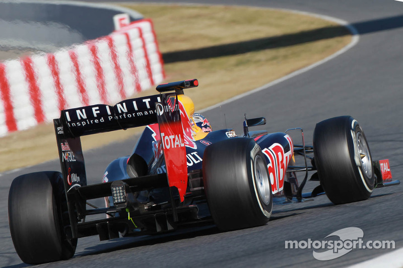 Sebastian Vettel, Red Bull Racing achtervleugel