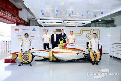 HRT F112 launch