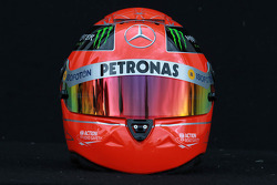Michael Schumacher, Mercedes GP helmet