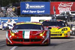 #51 AF Corse Ferrari F458 Italia: Giancarlo Fisichella, Gianmaria Bruni, Toni Vilander