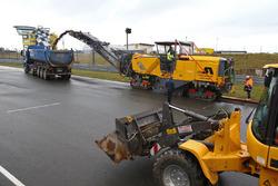Sachsenring repaving work