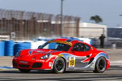 #18 RS1 Porsche Cayman: Aurora Straus, Connor Bloum, Nick Longhi