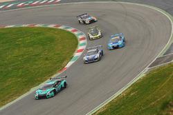 #21 Konrad Motorsport, Lamborghini Huracan GT3: Franz Konrad, Marco Mapelli, Giorgio Maggi, Christopher Zöchling