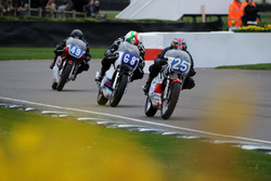 Hailwood Trophy,  #25 Glen English, #68 Michael Russell, #49 Nigl Palmer