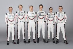 Porsche LMP1 pilotları 2017