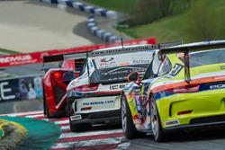 #64 Porsche Lorient Racing, Porsche 991 Cup: Philippe Polette, Frédéric Lelievre, Frédéric Ancel