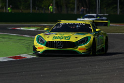 #48 MANN-FILTER Team HTP Motorsport, Mercedes-AMG GT3: Kenneth Heyer, Indy Dontje, Patrick Assenheimer