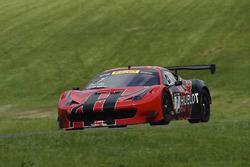 #7 Scuderia Corsa, Ferrari 458 GT3: Martin Fuentes, Stefan Johansson
