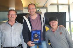 Paul Kasper, Syvlain Burkhalter, Lukas Desserich, podium Abarth