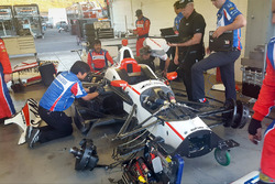 Sébastien Bourdais, Dale Coyne Racing Honda'nın aracı tamir ediliyor