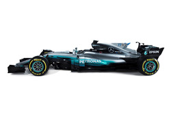 Decoración Mercedes AMG F1 W08