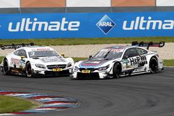 Crash, Paul Di Resta, Mercedes-AMG Team HWA, Mercedes-AMG C63 DTM and Tom Blomqvist, BMW Team RBM, BMW M4 DTM