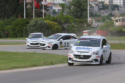#7 Ramazan Kaya, Opel Corsa Opc, #11 Erkan Çelik, Opel Corsa Opc