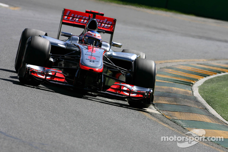 2012: Jenson Button, McLaren-Mercedes MP4-27