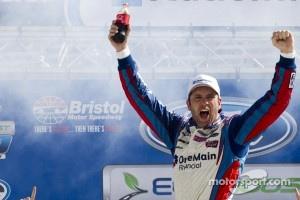 Victory lane: race winner Elliott Sadler