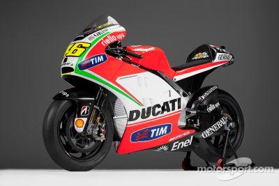 Ducati Desmosedici GP12, Lanzamiento