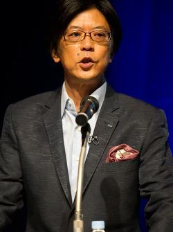 Audi Japan President Hiroshi Okita