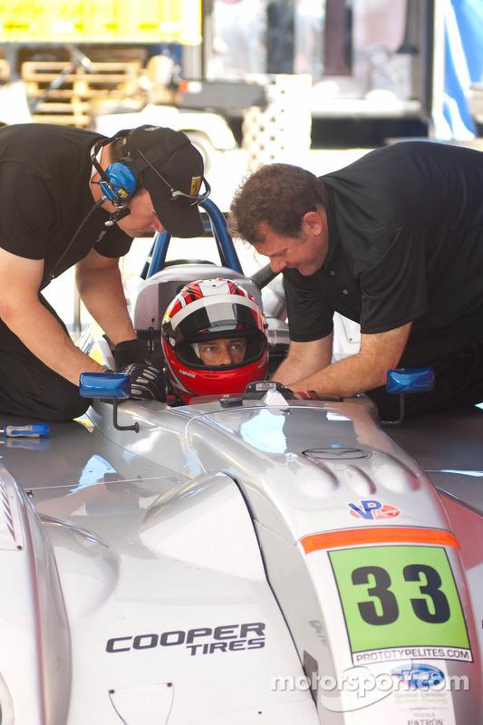 #33 Ferrari of Houston Cooper Prototype Lite: Anthony Lazzaro