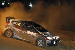 Jari Ketomaa and Mika Stenberg, Ford Fiesta RS WRC