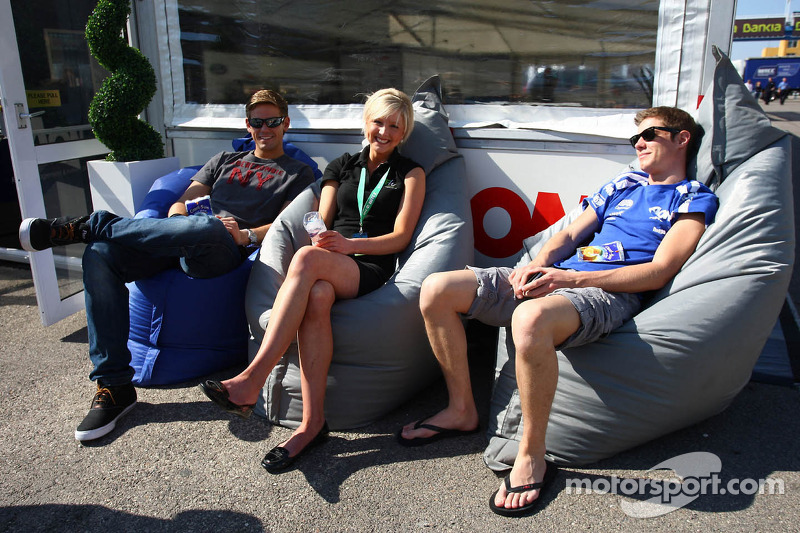 Tom Chilton, Ford Focus S2000 TC, Team Aon and James Nash, Ford Focus S2000 TC, Team Aon