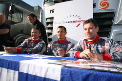 Nicolas Minassian, Stéphane Sarrazin and Nicolas Marroc