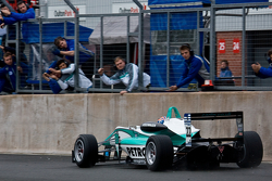 Jazeman Jaafar finishes second