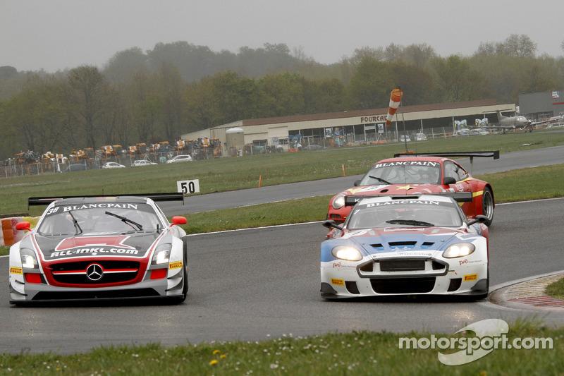 #38 All-Inkl.com Münnich Motorsport Mercedes-Benz SLS AMG GT3: Marc Basseng, Markus Winkelhock, #7 V