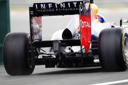 Mark Webber, Red Bull Racing rear diffuser detail