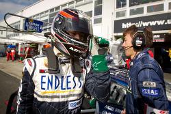 GT300 pole winner Naoki Yokomizo