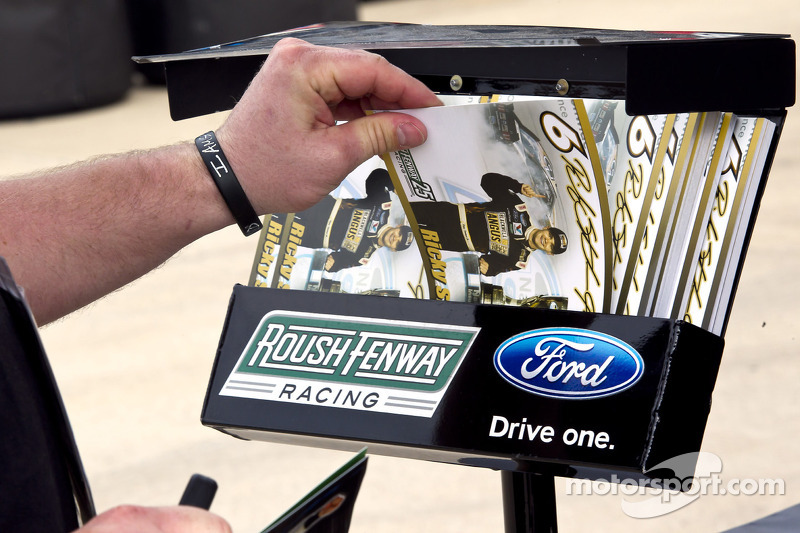 Hero card voor Ricky Stenhouse Jr., Roush Fenway Ford