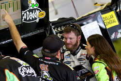 Dale Earnhardt Jr. and Danica Patrick