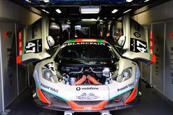#47 ASM Team McLaren MP4-12C GT3: Karim Ojjeh, Ricardo Espirito Santo Bravo/ Lourenco Beirao da Veiga