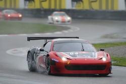 #64 Black Bull Swiss Racing Ferrari 458 Italia: Tommaso Maino, Andrea Invernizzi, Mirko Venturi