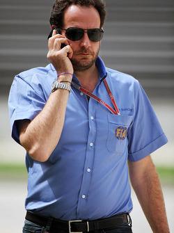Matteo Bonciani, FIA Media Delegate