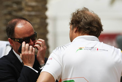 John Yates, London Metropolitan Police Service Former Assistant Commissioner and Bahrain Police Force Advisor with Robert Fearnley, Sahara Force India F1 Team Deputy Team Principal