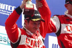 Second place Alexey Dudukalo, SEAT Leon WTCC, Lukoil Racing Team