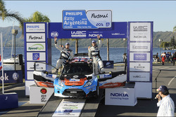 Third place Mads Ostberg and Jonas Andersson, Ford Fiesta RS WRC