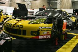 #70 Larbre Compétition Chevrolet Corvette C6-ZR1: Christophe Bourret, Pascal Gibon, Jean-Philippe Belloc
