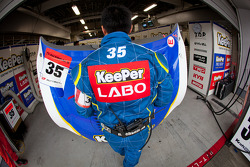 Lexus Team KeePer Kraft team member