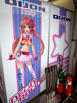 Dijon Racing signage