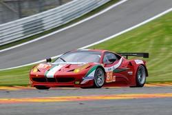 #81 AF Corse Ferrari 458 Italia: Piergiuseppe Perazzini, Marco Cioci, Matt Griffin