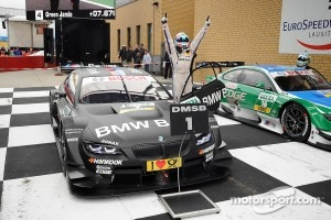 Race winner Bruno Spengler, BMW Team Schnitzer BMW M3 DTM