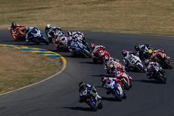 Zaterdag Superbike race