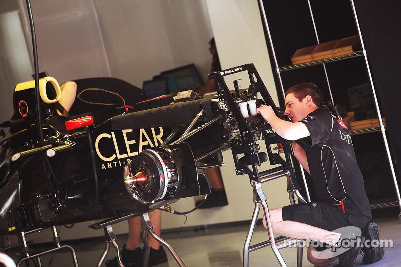 Lotus E20 van Kimi Raikkonen, Lotus F1 Team
