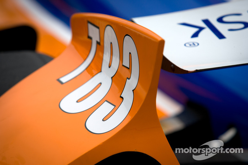 Car detail, Charlie Kimball, Novo Nordisk Chip Ganassi Racing Honda