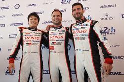 Yuji Kunimoto, Nicolas Lapierre, Jose Maria Lopez, Toyota Gazoo Racing
