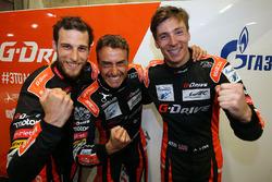 LMP2 polesitters #26 G-Drive Racing Oreca 07 Gibson: Roman Rusinov, Pierre Thiriet, Alex Lynn