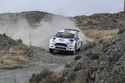 Nasser Al-Attiyah, Matthieu Baumel, Ford Fiesta R5