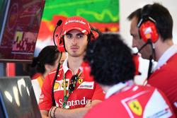 Antonio Giovinazzi, Ferrari piloto de prueba y de reserva