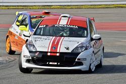 Stephan Zbinden, Renault Clio III Cup, Motorsport Team Zbinden, avant Daniel Borer, Renault Clio III Cup, Ecurie Basilisk